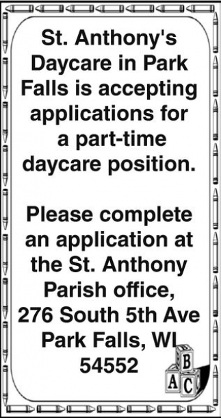 Daycare Position