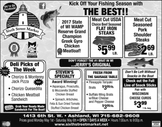 Kick Off Your Fishing Season with The Best!
