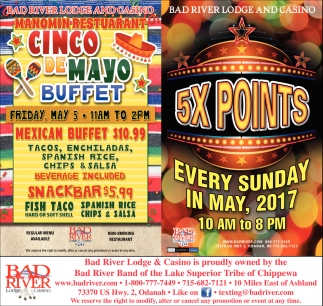 5X Points Every Sunday