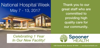 National Hospital Week