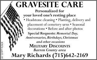 Gravesite Care