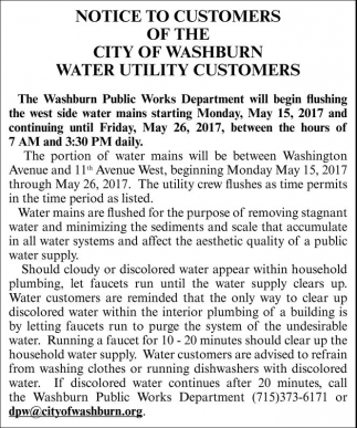 Water Utility Customers