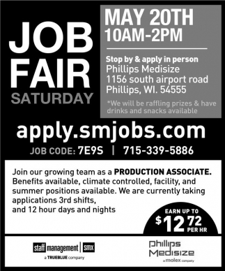 Job Fair Saturday
