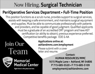 Surgical Technician