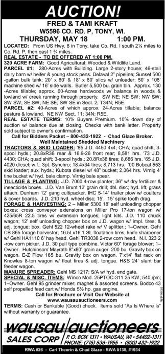 Real Estate, Tractors