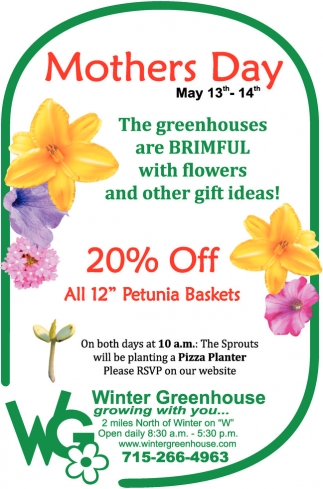 Mother's Day 20% off