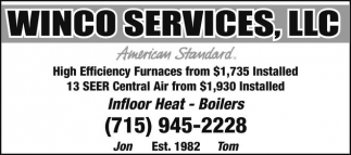 Furnances from $1,735 installed
