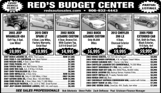 Every Vehicle $9,995 & Less!