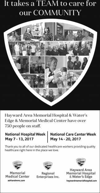 National Hospital Week - National Care Center Week