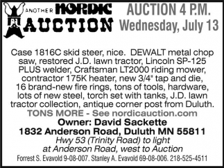 Another Nordic Auction