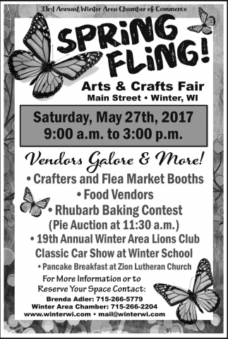 Spring Fling! Arts & Crafts Fair
