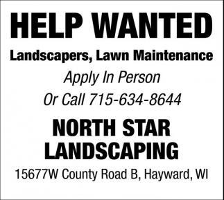 Landscaper, Lawn Maintenance