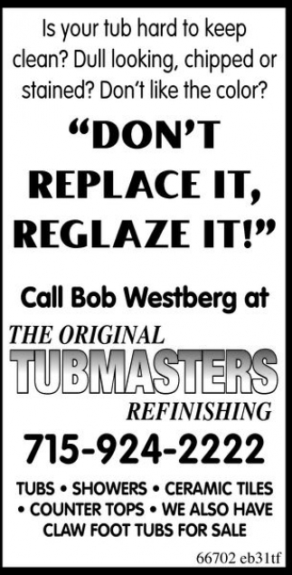 The Original Tubmasters Refinishing