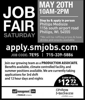 Job Fair Saturday