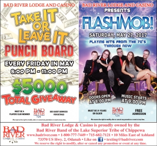 Take It or Leave It Punch Board $5000 Total Giveaway