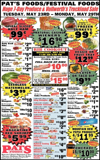 Huge 7-Day Produce & Vollwerth's Truckload Sale