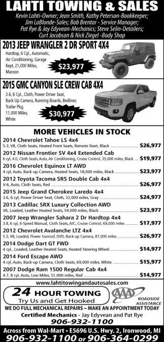 2013 Jeep Wrangler 2 Dr Sport 4x4