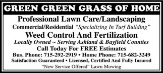 Lawn Care / Landscaping, Weed Control and Fertilization