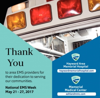 Thank You. National EMS Week