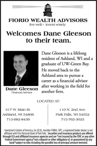 Welcomes Dane Gleeson to their team
