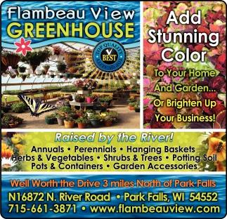 Annuals Perennials Hanging Baskets Herbs Vegetables Flambeau