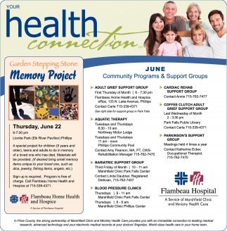 June Community Programs & Support Groups