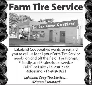 Farm Tire Service