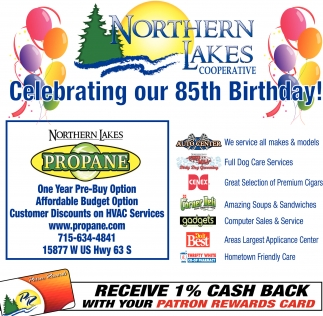 Celebrating our 85th Birthday!