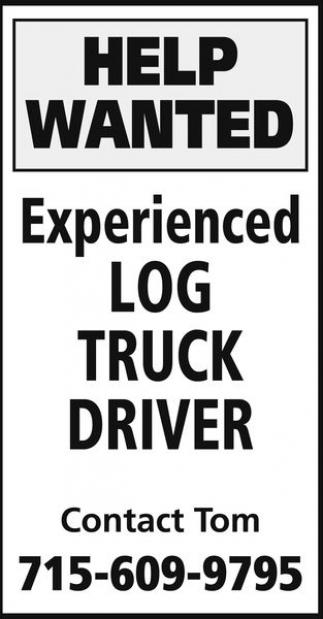 Log Truck Driver