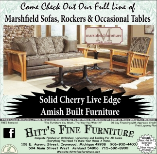 Solid Cherry Live Edge Amish Built Furniture