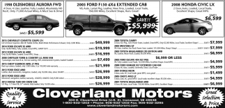 Oldsmobile, Ford, Honda