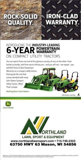 Introduciong the industry leading 6 year powertrain warranty
