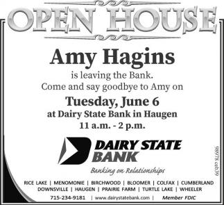 Open House Amy Hagins