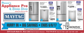 Big Savings, End 6/6/17
