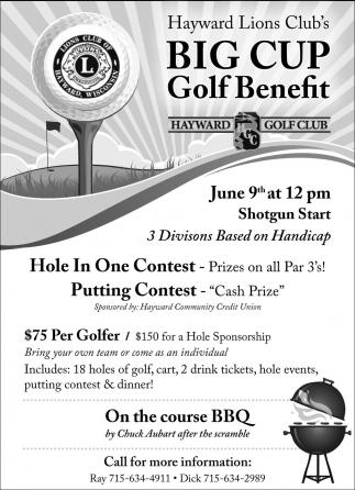 Big Cup Golf Benefit