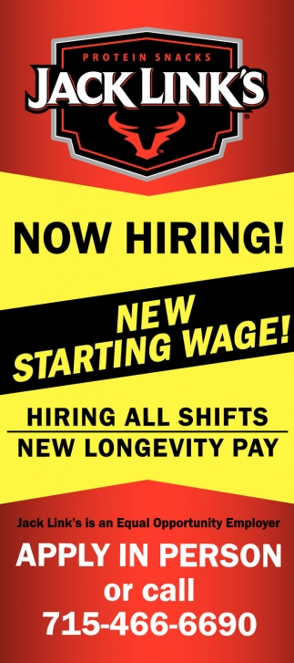 Hiring All Shifts