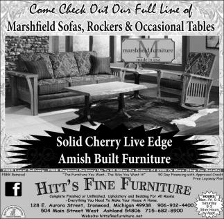Amish Built Furniture