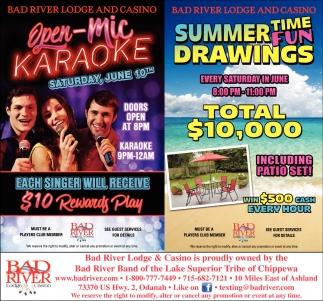 Open-Mic Karaoke