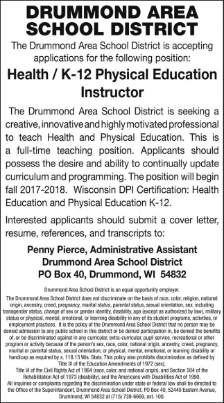 Health / K-12 Physical Education Instructor