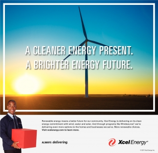 A cleaner energy present. A brighter energy future.
