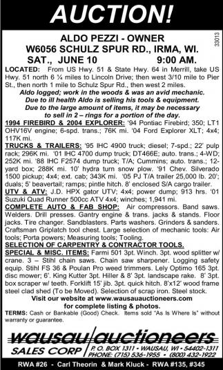 Trucksm Trailers, UTV, ATV