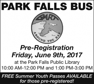 Free Summer Youth Passes Available for those pre-registered!