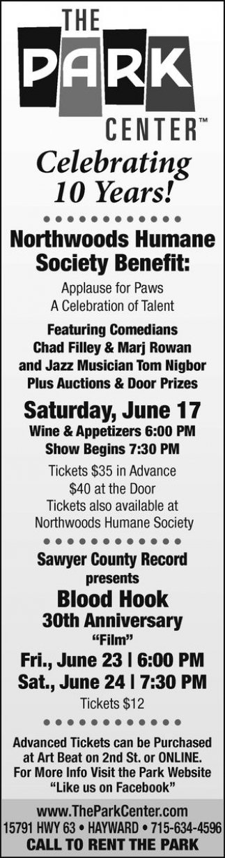 Northwoods Humane Society Benefit