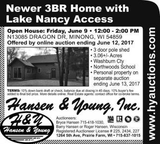 Newer 3BR Home with Lake Nancy Access