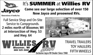 It's Summer at Willies RV