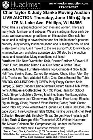 Furniture, Vintage, Collectibles, Tools, Garage