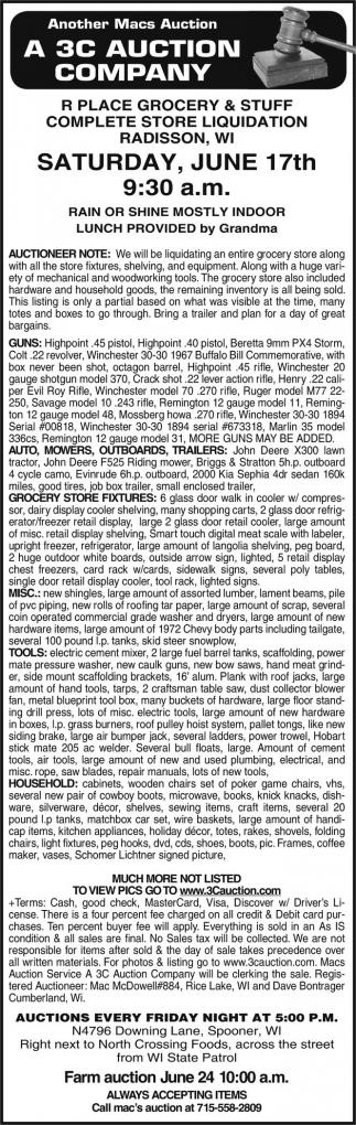 A 3C Auction Company