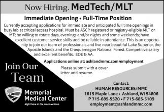 Med Tech/MLT