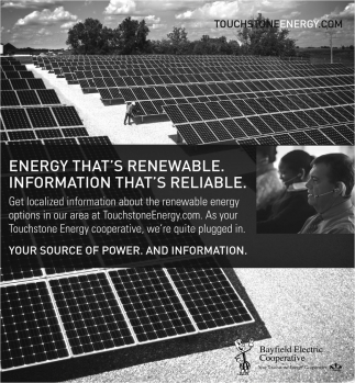 Energy That's Renewable. Information That's Reliable
