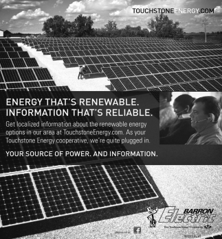 Energy that's renewable. Information that's reliable.